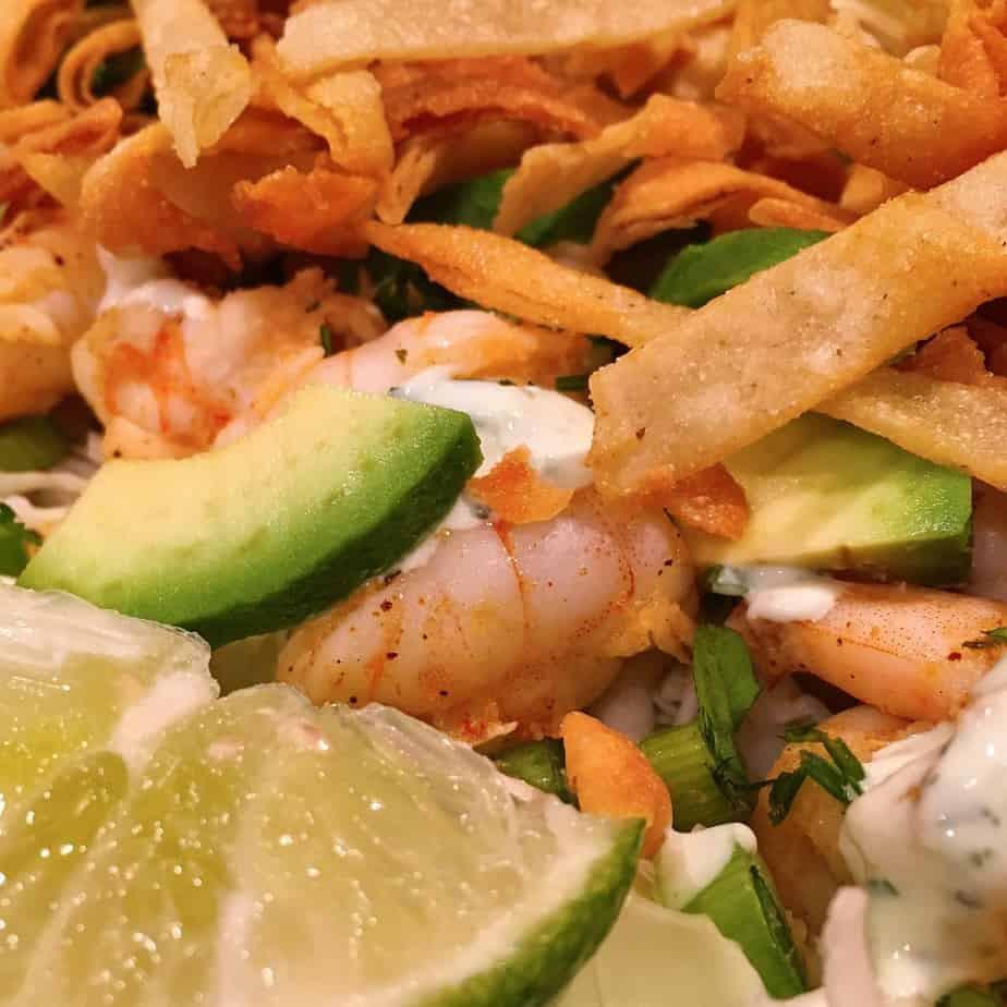 Shrimp Taco Salad  Shrimp Taco Salad