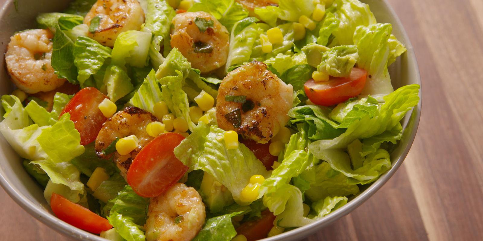 Shrimp Taco Salad  Best Shrimp Taco Salad Recipe How To Make Shrimp Taco Salad