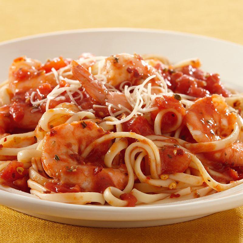 Shrimp Tomato Pasta  Shrimp Pasta with Spicy Tomato Sauce