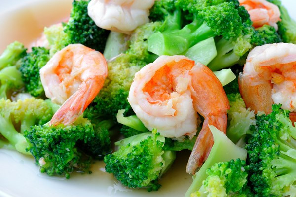 Shrimp With Broccoli  Shrimp & Broccoli in Chili Sauce Weight Watchers