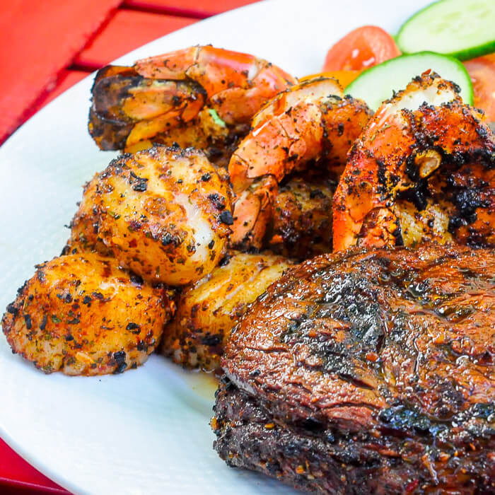 Shrimps And Prime Rib  The Best Cajun Spice Rub great on seafood steaks & more
