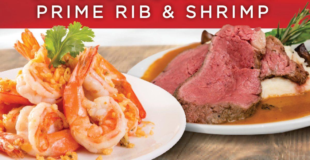 Shrimps And Prime Rib  Dining DiamondJacks Casino & Hotel