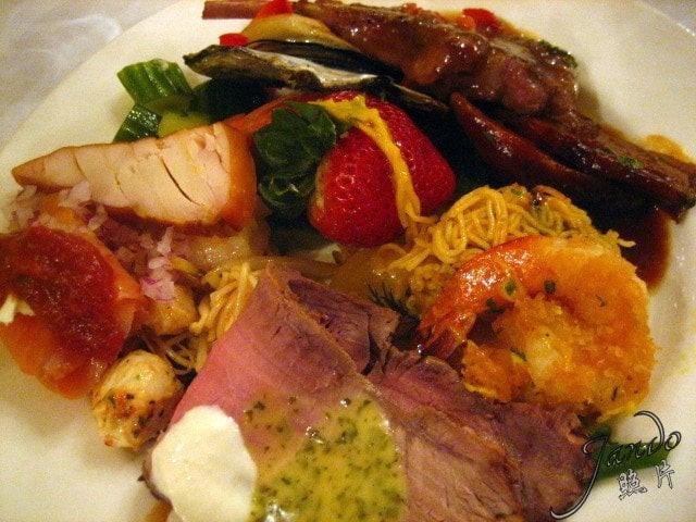 Shrimps And Prime Rib  Hodgepodge Lamb Shank Fried Shrimp Prime Rib Turkey