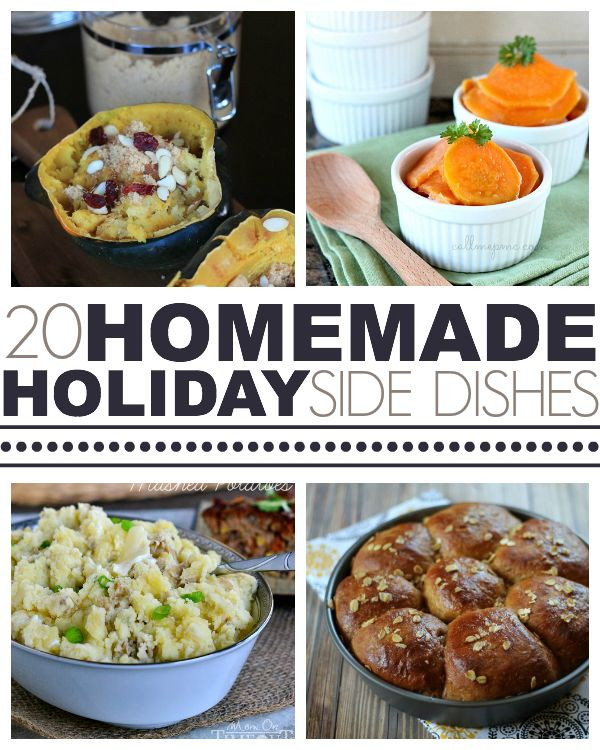 Side Dishes For Christmas Dinner  Over 20 Homemade Holiday Side Dishes