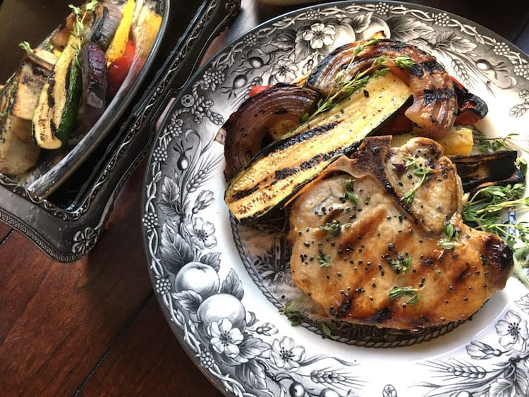 Side Dishes For Grilled Pork Chops  How to Make Grilled Ve ables Food Sides