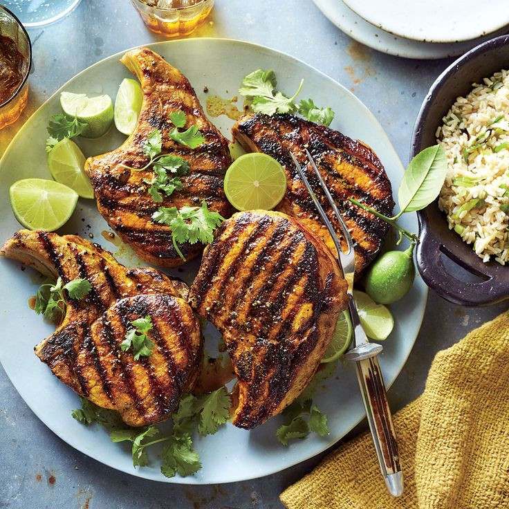 Side Dishes For Grilled Pork Chops  17 Best images about Grilled Recipes on Pinterest