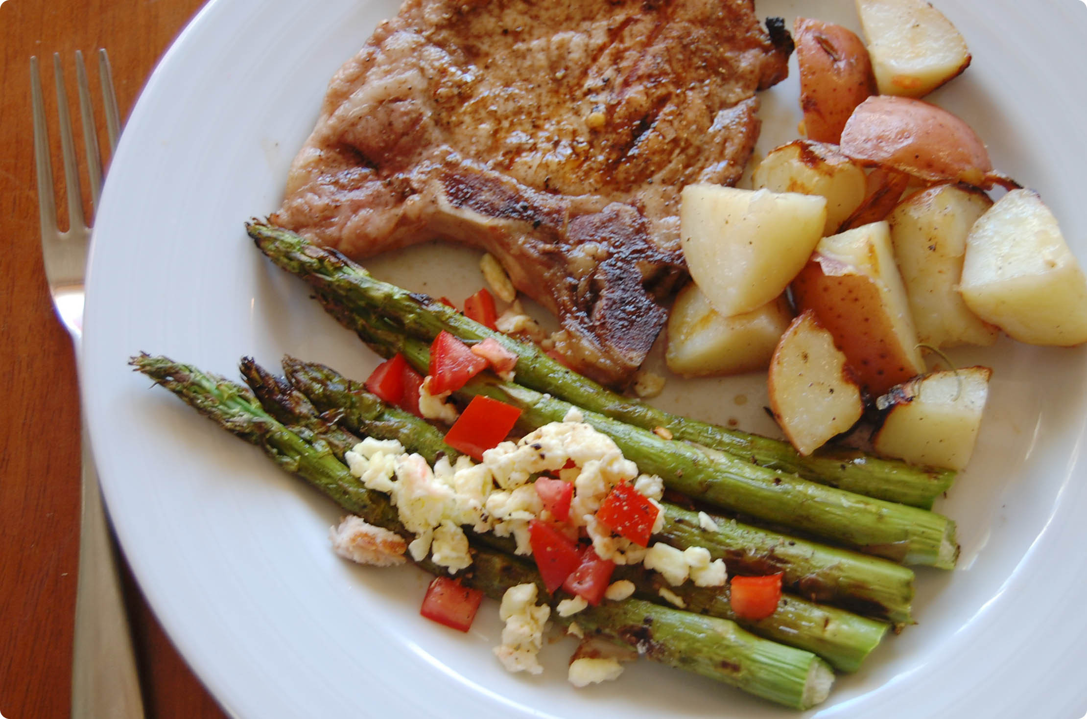 Side Dishes For Grilled Pork Chops  ve able side dish