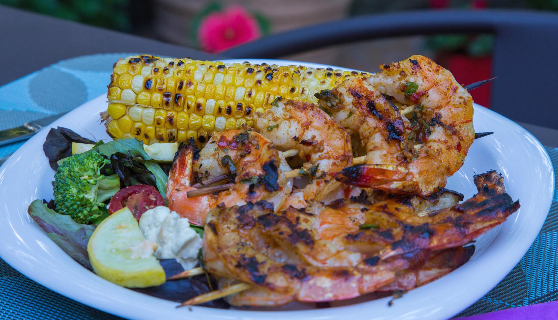 Side Dishes For Shrimp  grilled shrimp sides