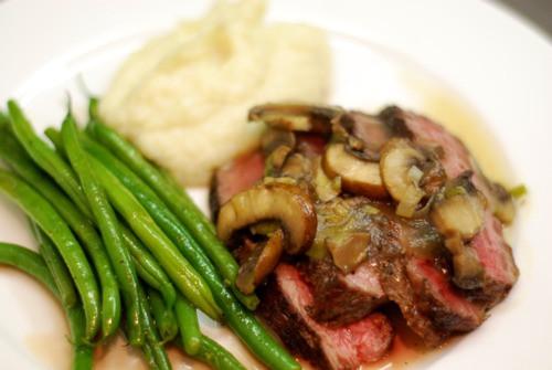 Side Dishes For Steak Dinner  Dinner In An Hour Sous Vide Organic Rib Eye Steak Mash