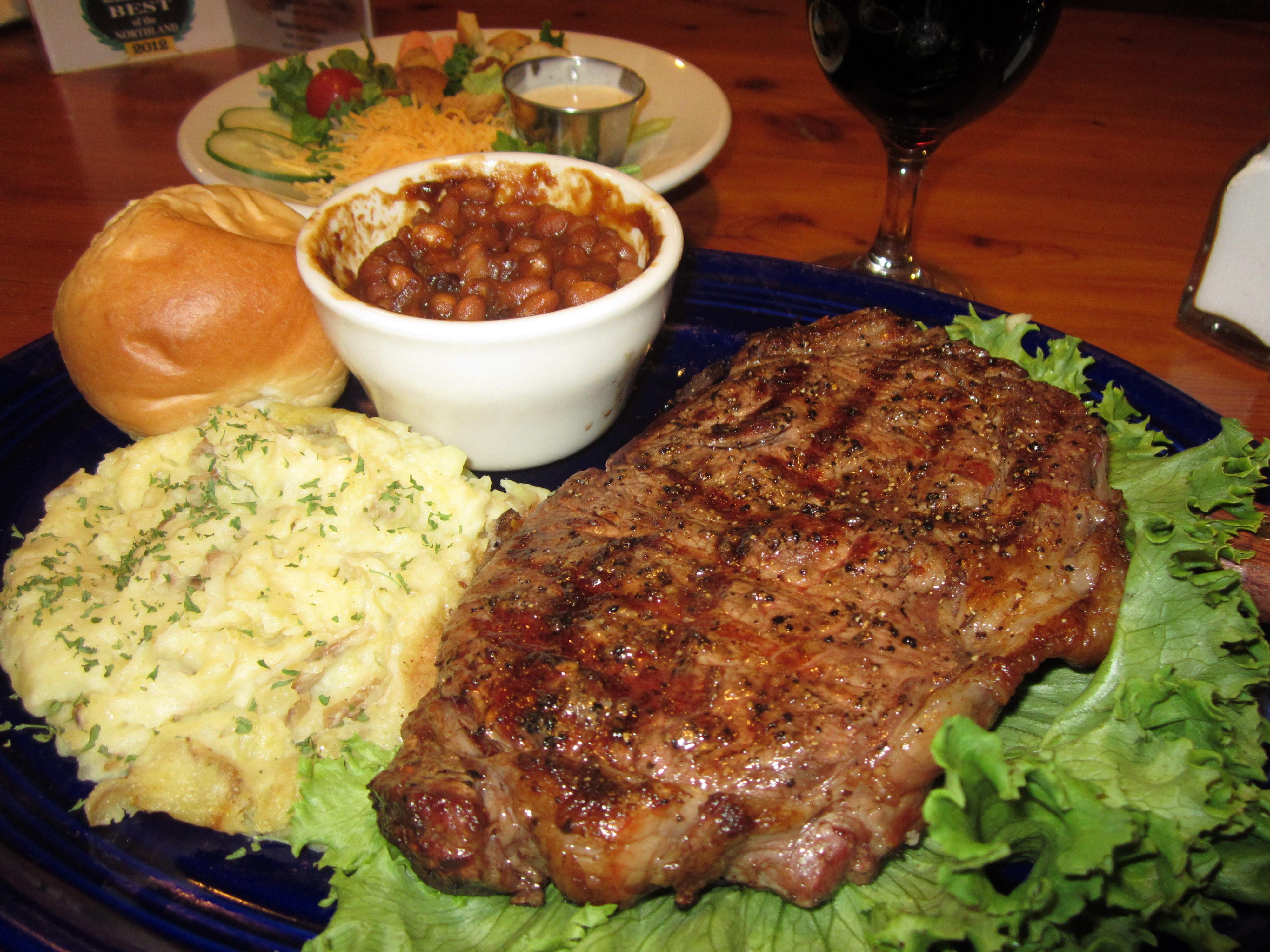 Side Dishes For Steak Dinner  steak dinner sides