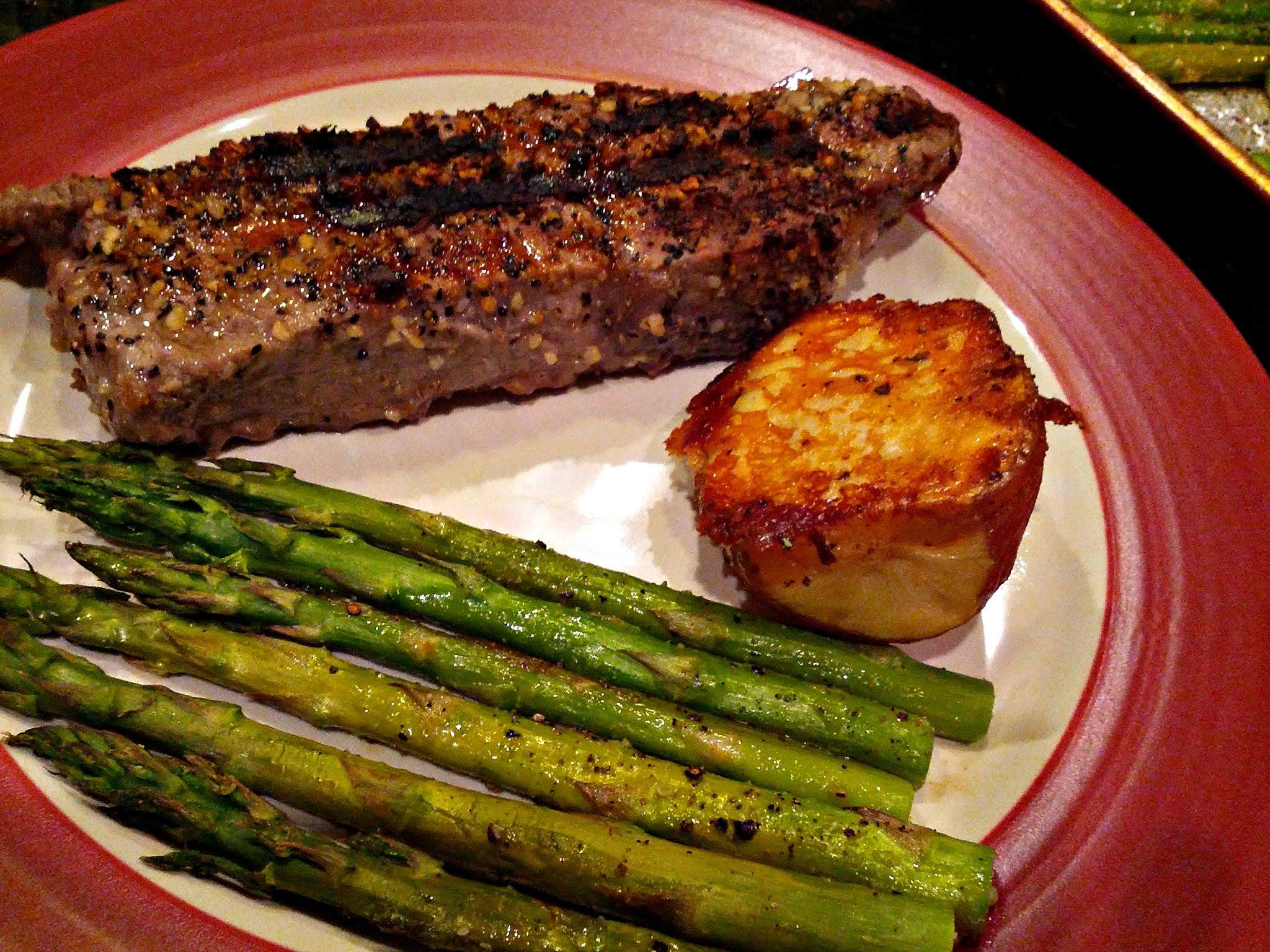 Side Dishes For Steak Dinner  Parmesan Upside Down Baked Potatoes