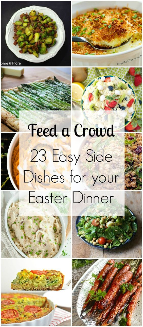 Sides For Dinner  Blog Dishes and Easter dinner on Pinterest