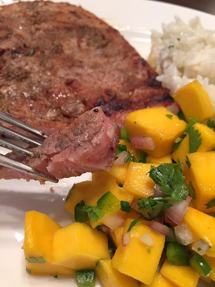 Sides With Pork Chops  jerk pork chops sides