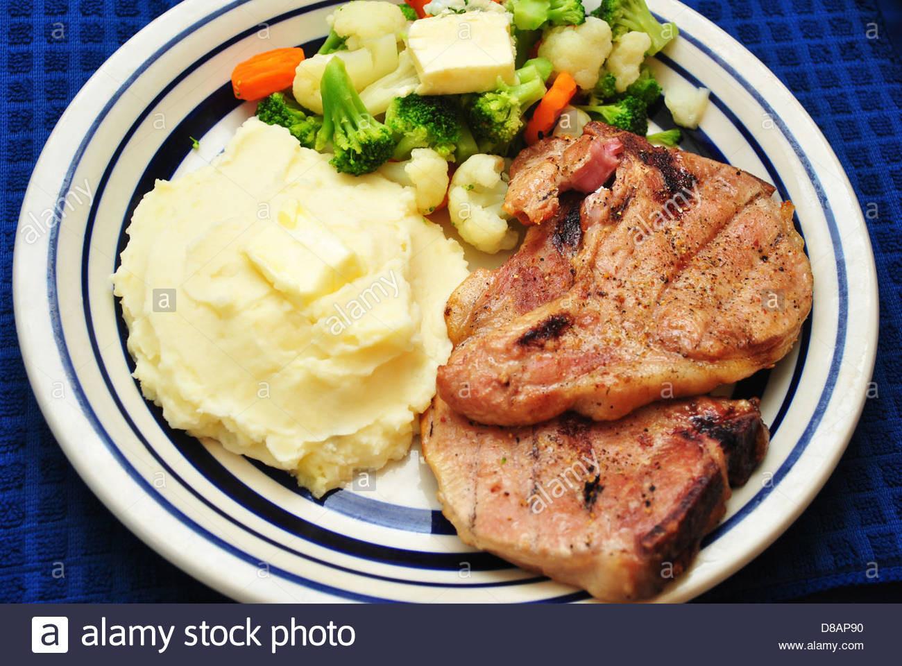 Sides With Pork Chops  sides for grilled steak dinner