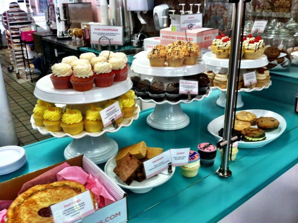 Sift Dessert Bar  Cupcake Display Yelp
