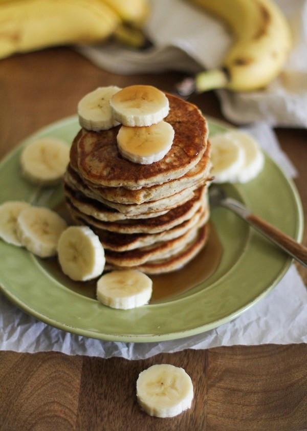 Silver Dollar Pancakes  Gluten Free Vegan Banana Silver Dollar Pancakes