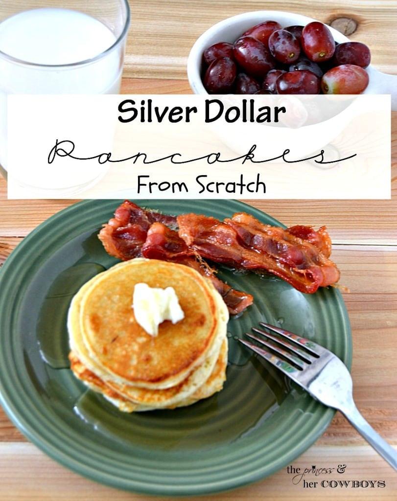 Silver Dollar Pancakes  Inspiration Monday Party