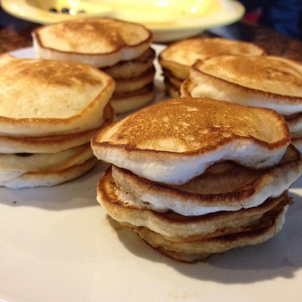 Silver Dollar Pancakes  Yes Silver dollar pancakes
