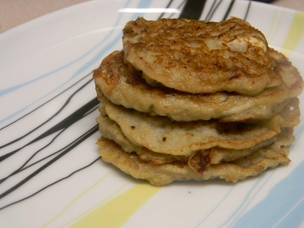Silver Dollar Pancakes  Almond Milk Banana Silver Dollar Pancakes SCD & GFCF