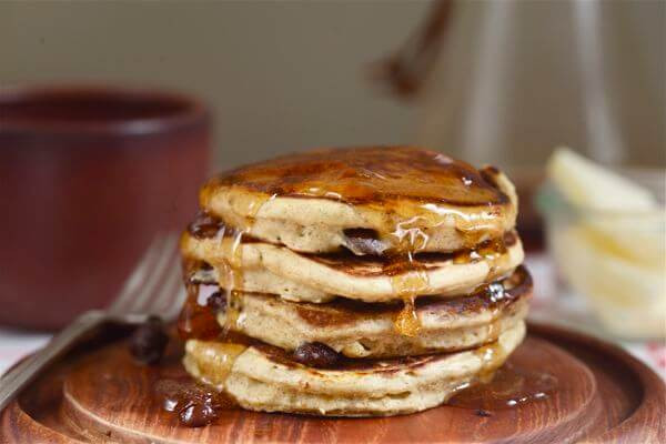 Silver Dollar Pancakes  Rye Chocolate and Orange Silver Dollar Pancakes – A Cozy