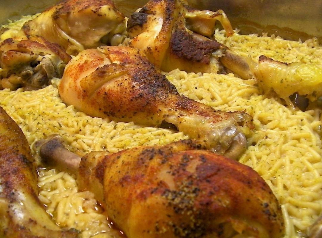 Simple Baked Chicken  Ridiculously Easy Baked Chicken With Rice Recipe