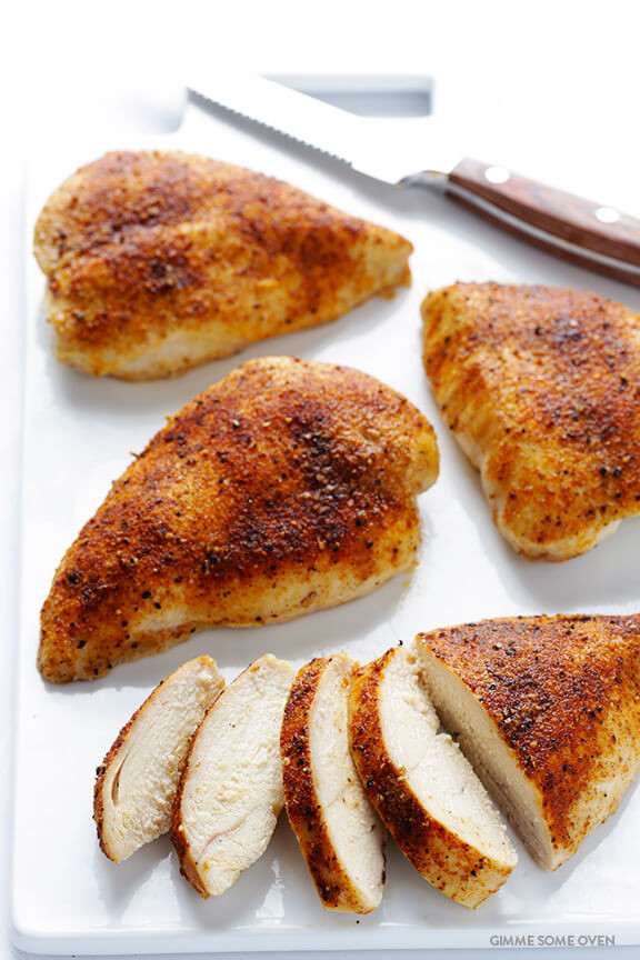 Simple Baked Chicken  easy baked chicken breast recipes