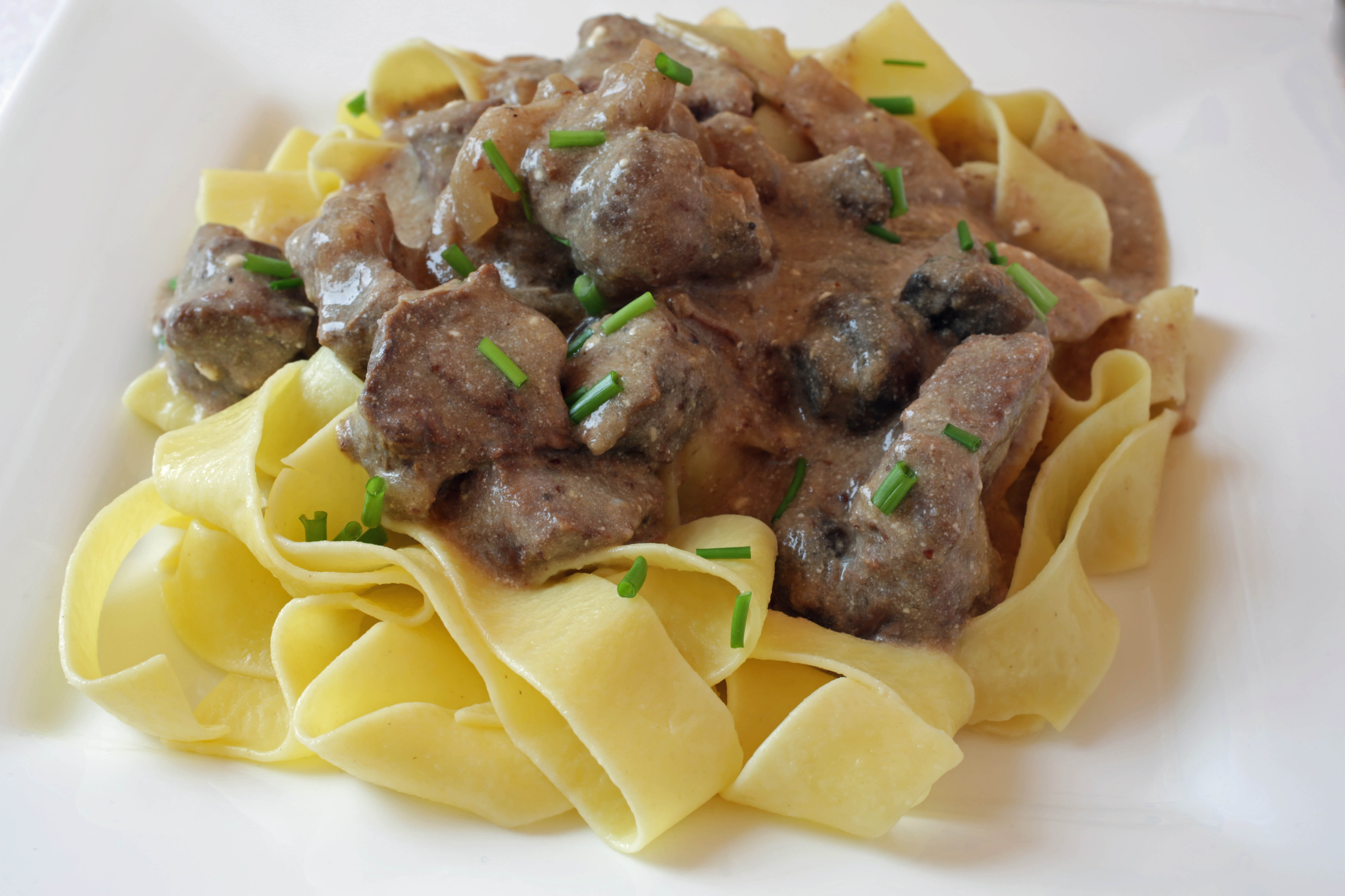 Simple Beef Stroganoff  Easy Beef Stroganoff The Slow Cooker Way The Culinary