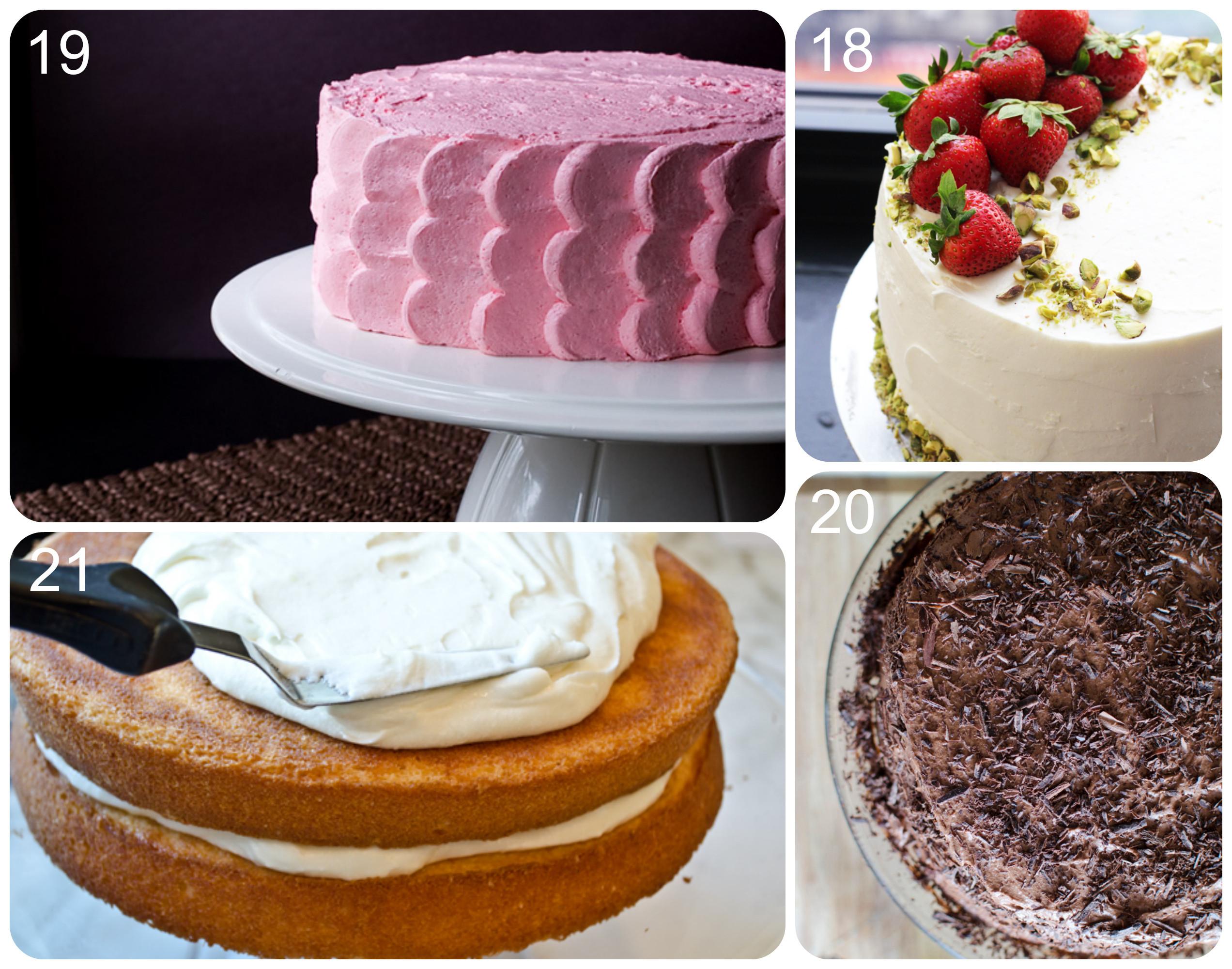Simple Cake Recipe  easy birthday cake recipe