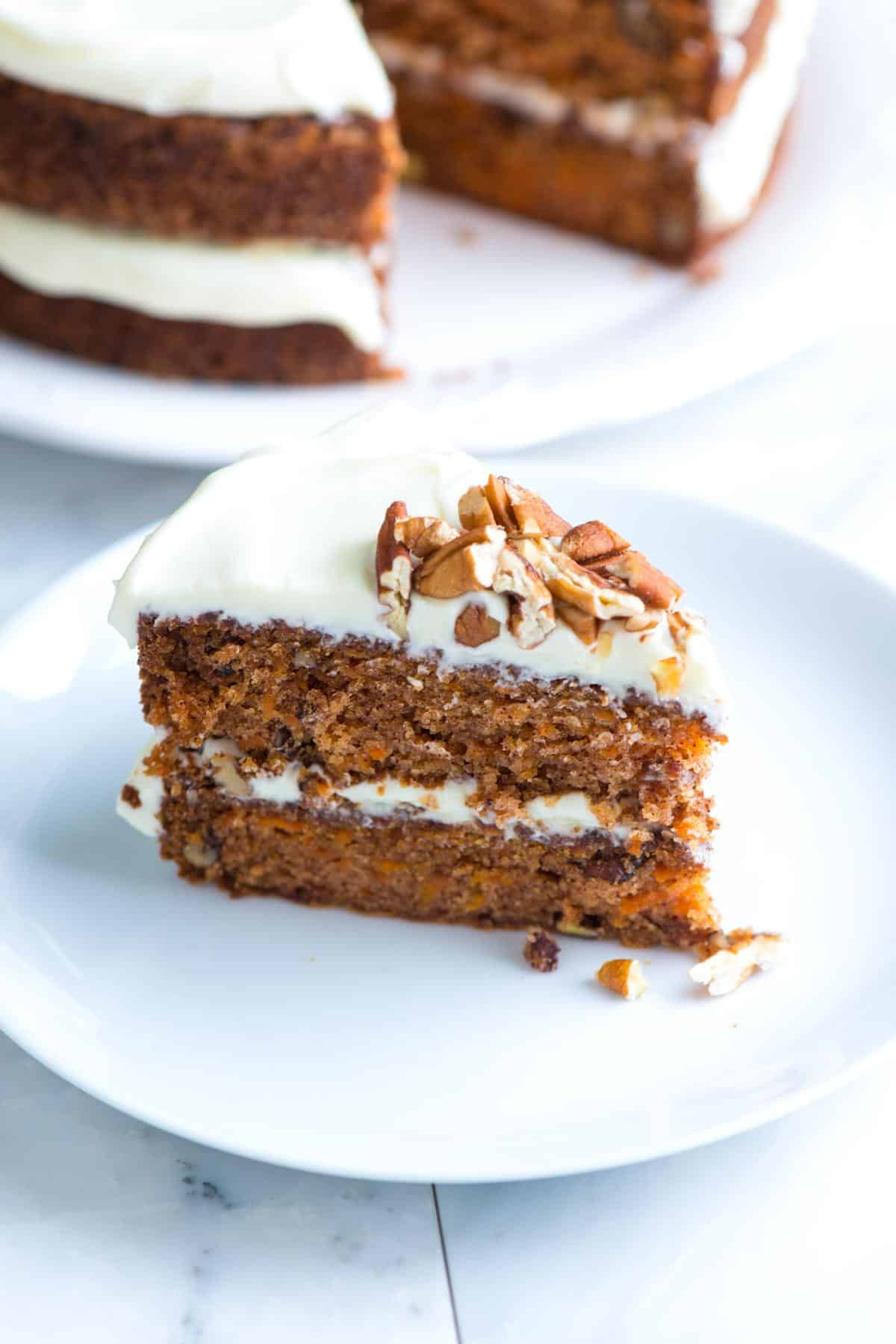 Simple Cake Recipe  Incredibly Moist and Easy Carrot Cake Recipe