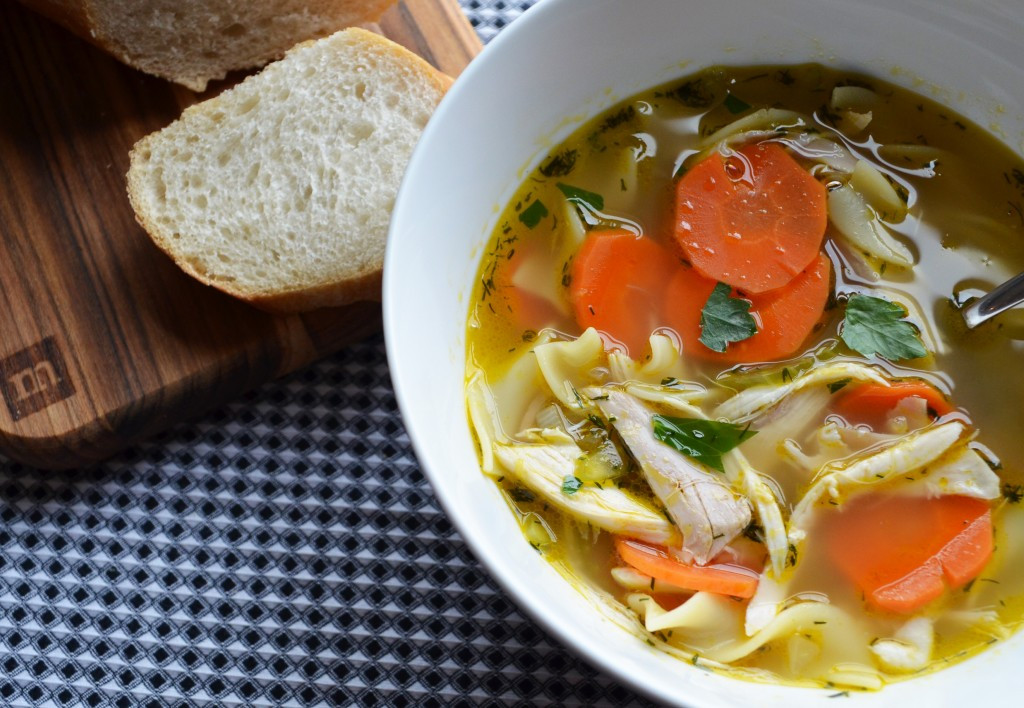 Simple Chicken Noodle Soup  Simple Chicken Noodle Soup Whisking Mama