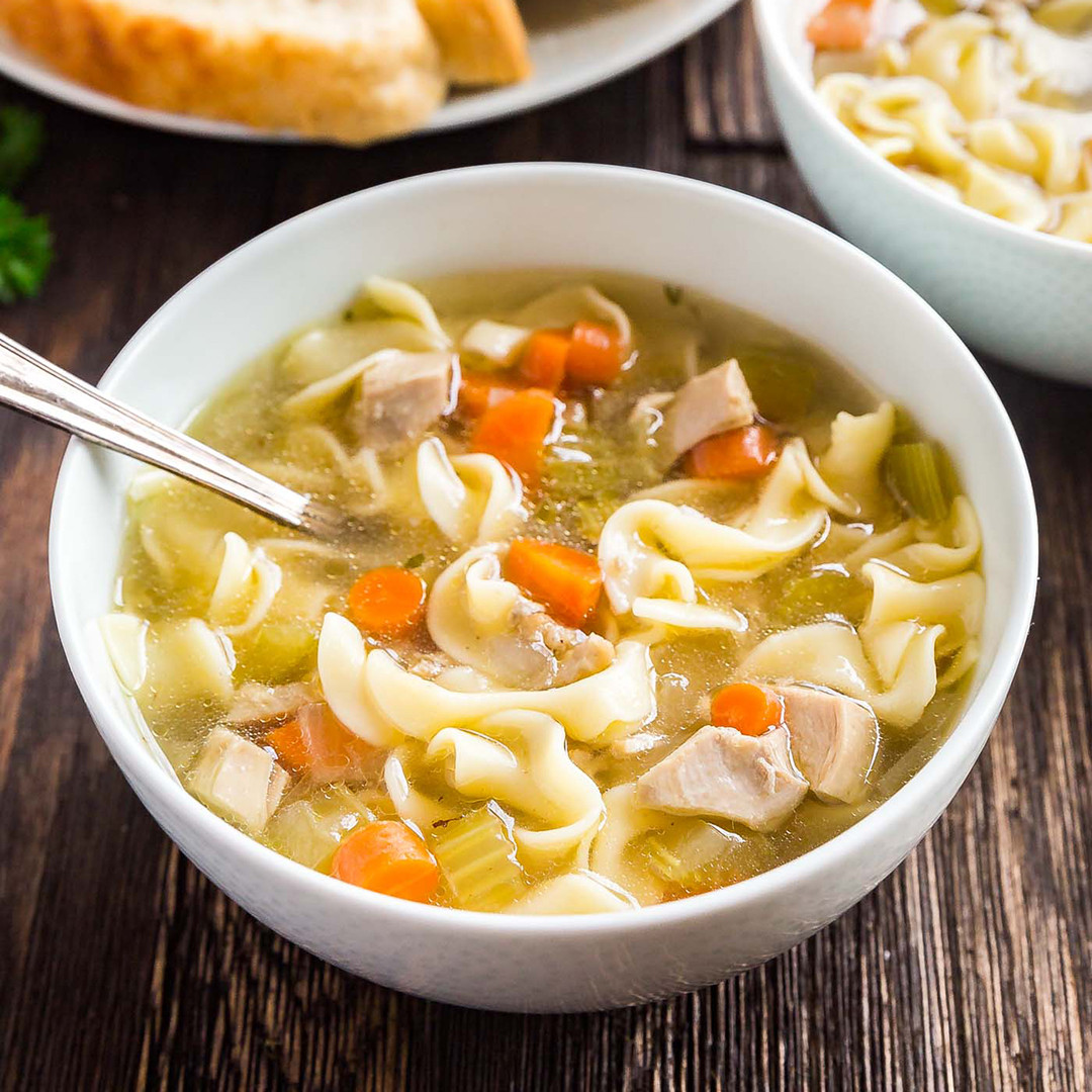 Simple Chicken Noodle Soup  Easy Homemade Chicken Noodle Soup Recipe
