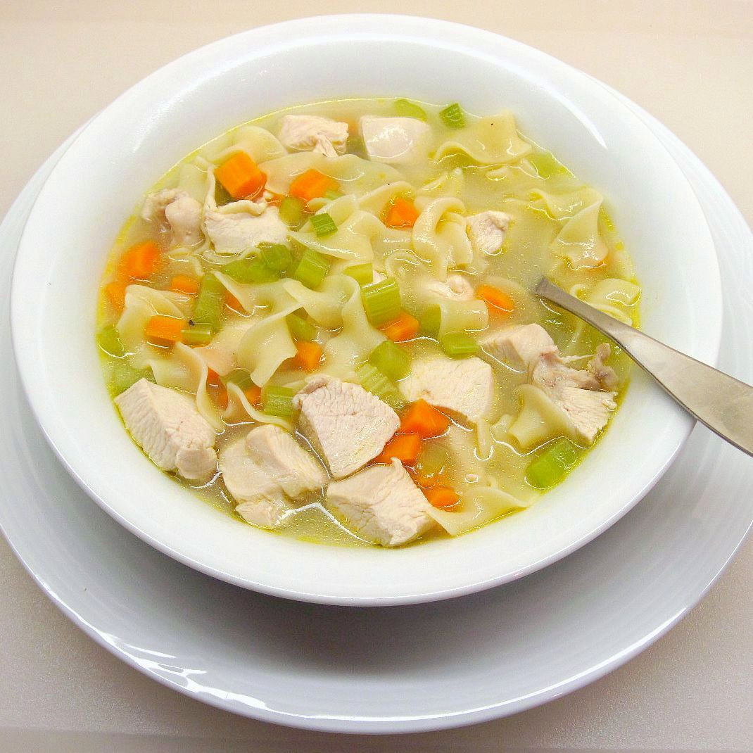 Simple Chicken Noodle Soup  Quick and Easy Chicken Noodle Soup