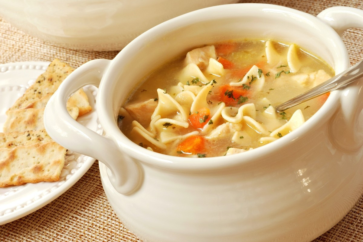 Simple Chicken Noodle Soup  Quick and Easy Chicken Noodle Soup KitchMe