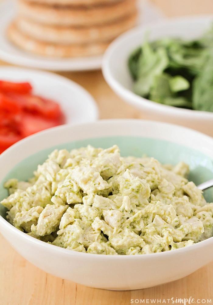 Simple Chicken Salad Recipe  easy chicken salad sandwich recipe