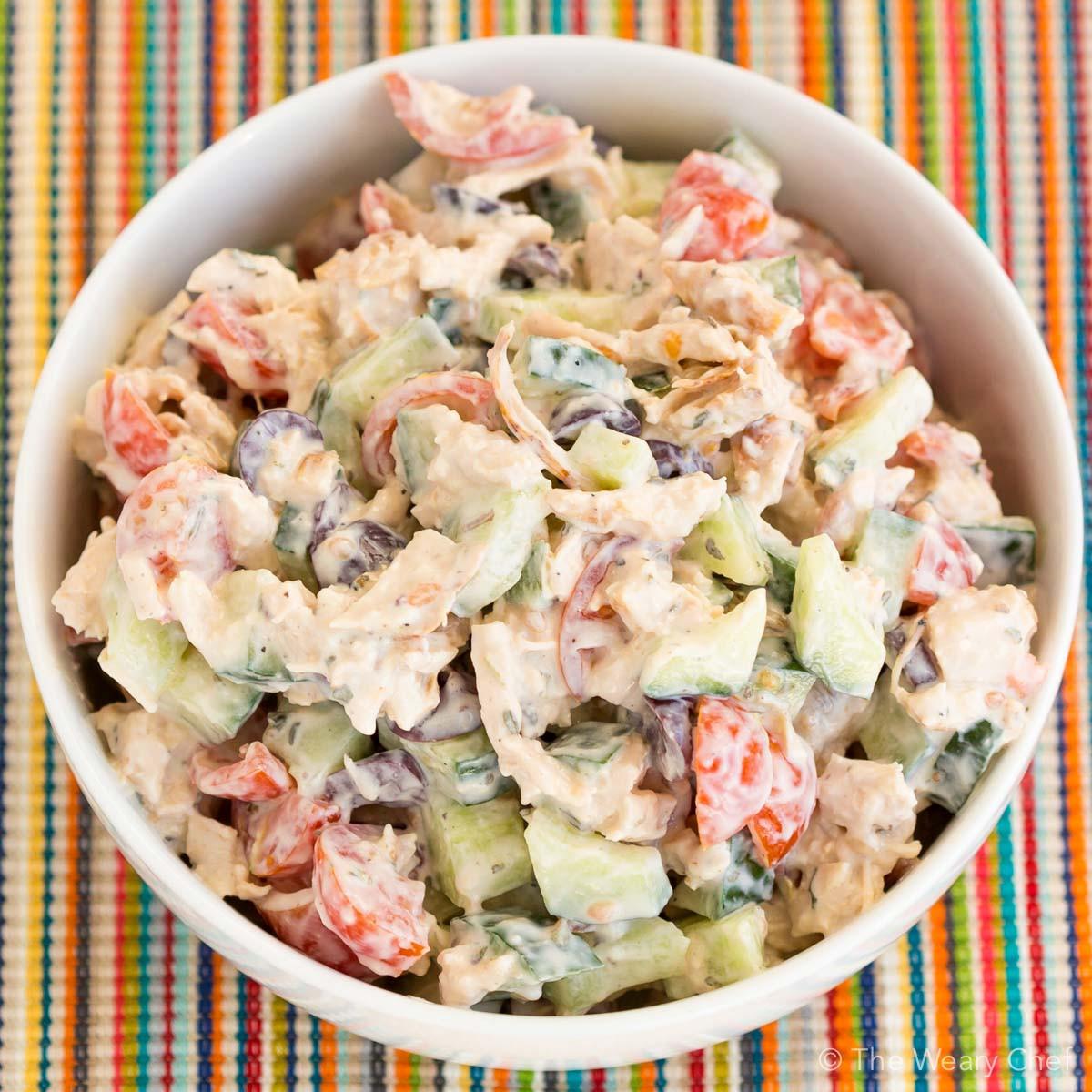 Simple Chicken Salad Recipe  easy chicken salad recipe