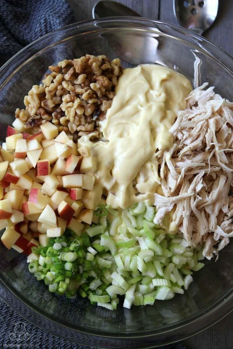 Simple Chicken Salad Recipe  Easy Chicken Salad Recipe With Apples