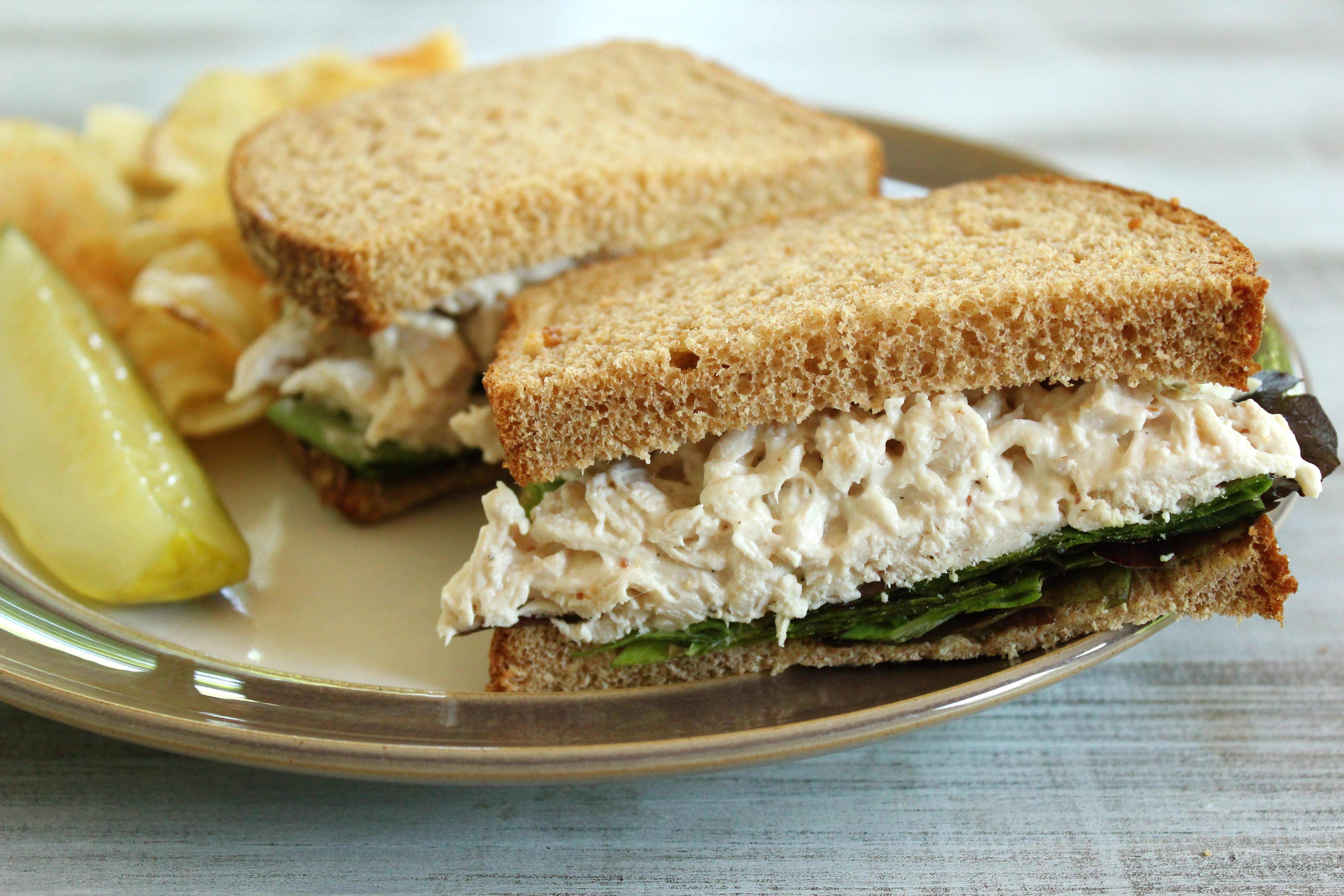 Simple Chicken Salad Recipe  Basic Chicken Salad