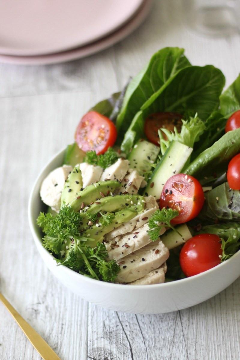 Simple Chicken Salad Recipe  Healthy simple chicken salad