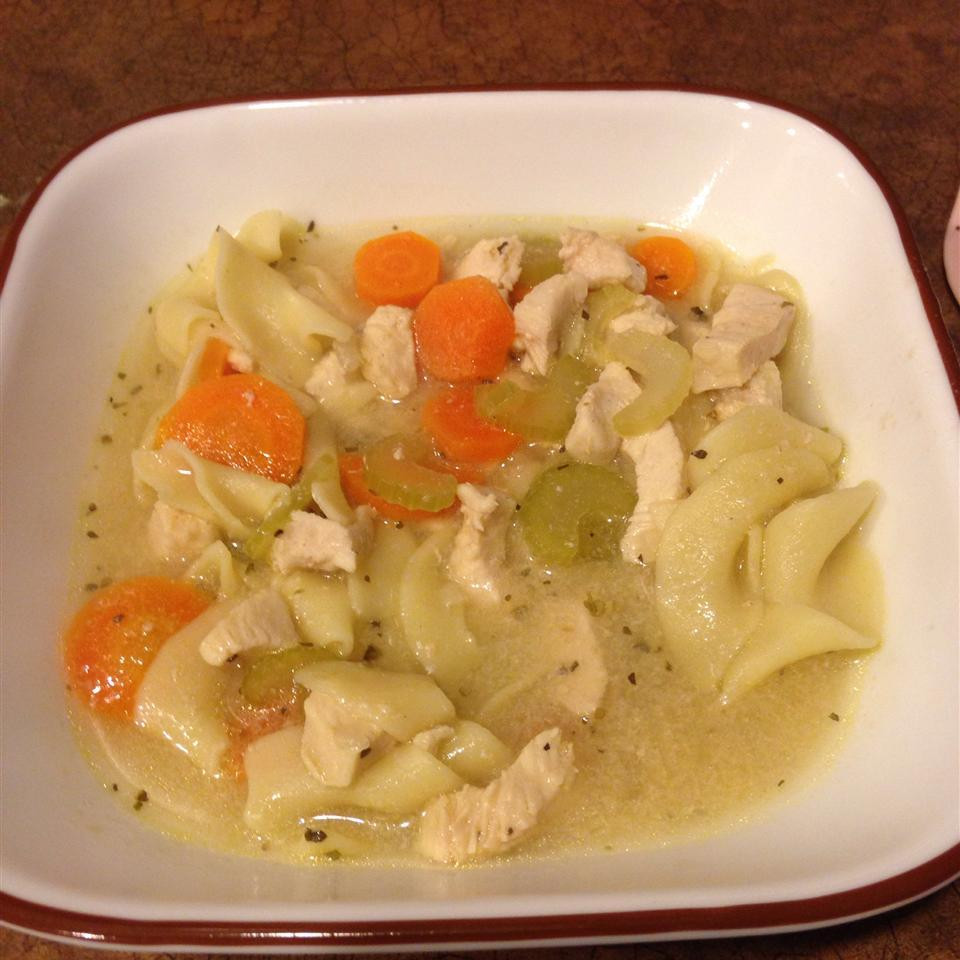 Simple Chicken Soup Recipe  Easy Chicken Soup with Noodles recipe – All recipes
