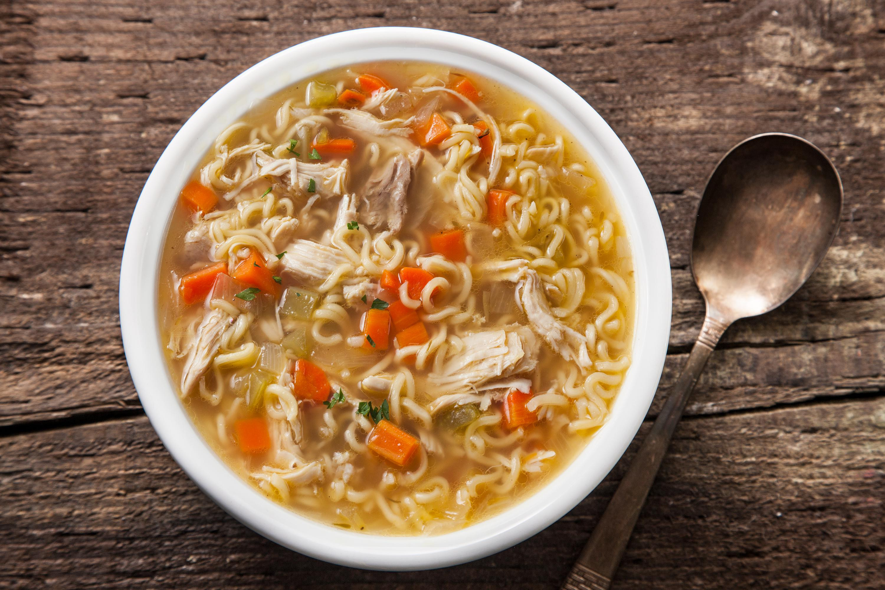 Simple Chicken Soup Recipe  Easy Chicken Noodle Soup Recipe Chowhound