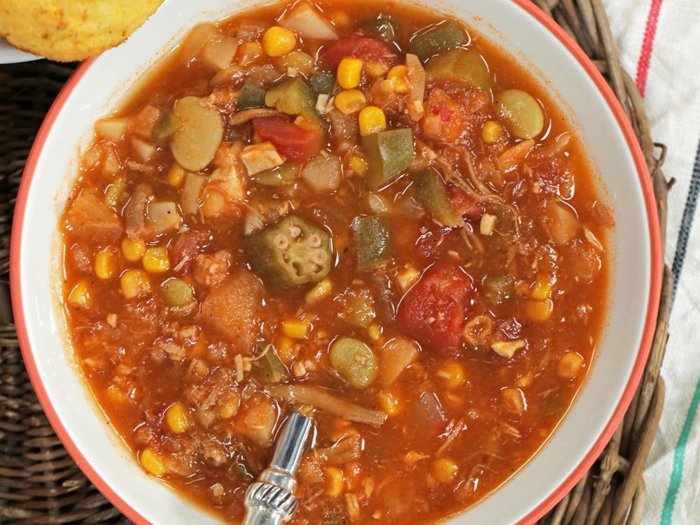 Simple Chicken Stew Recipe  easy chicken brunswick stew recipe