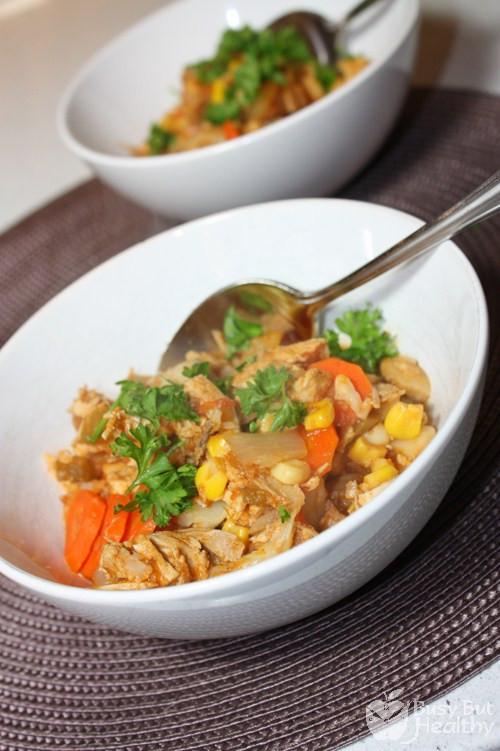 Simple Chicken Stew Recipe  Easy Chicken Stew Busy But Healthy