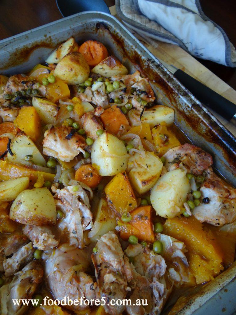 Simple Chicken Stew Recipe  Grandma's Chicken Stew