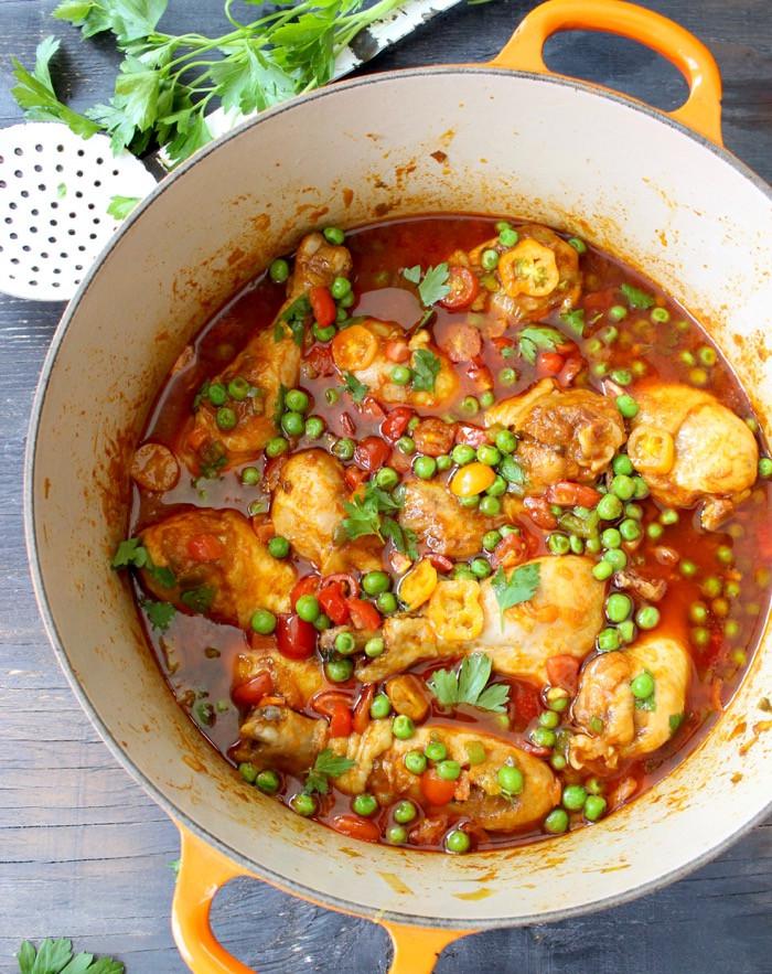 Simple Chicken Stew Recipe  Easy Chicken Stew Grandma s Recipe for Chicken Stew