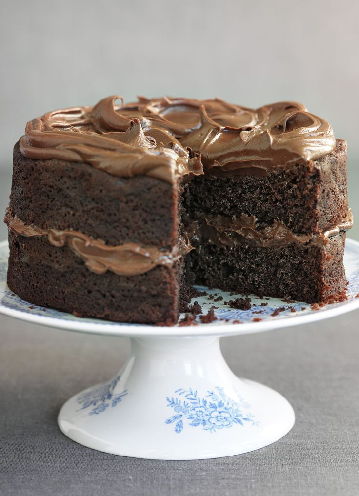 Simple Chocolate Cake  simple cake recipes for beginners