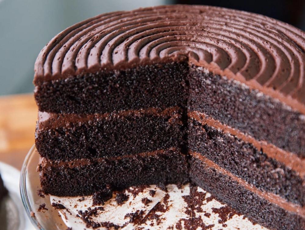 Simple Chocolate Cake  Basic Chocolate Cake Recipe — Dishmaps