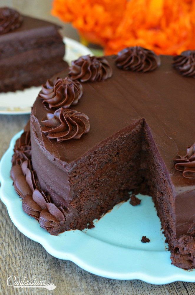 Simple Chocolate Cake  easy homemade chocolate cake