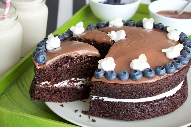 Simple Chocolate Cake  Easy Vegan Chocolate Cake Loving It Vegan