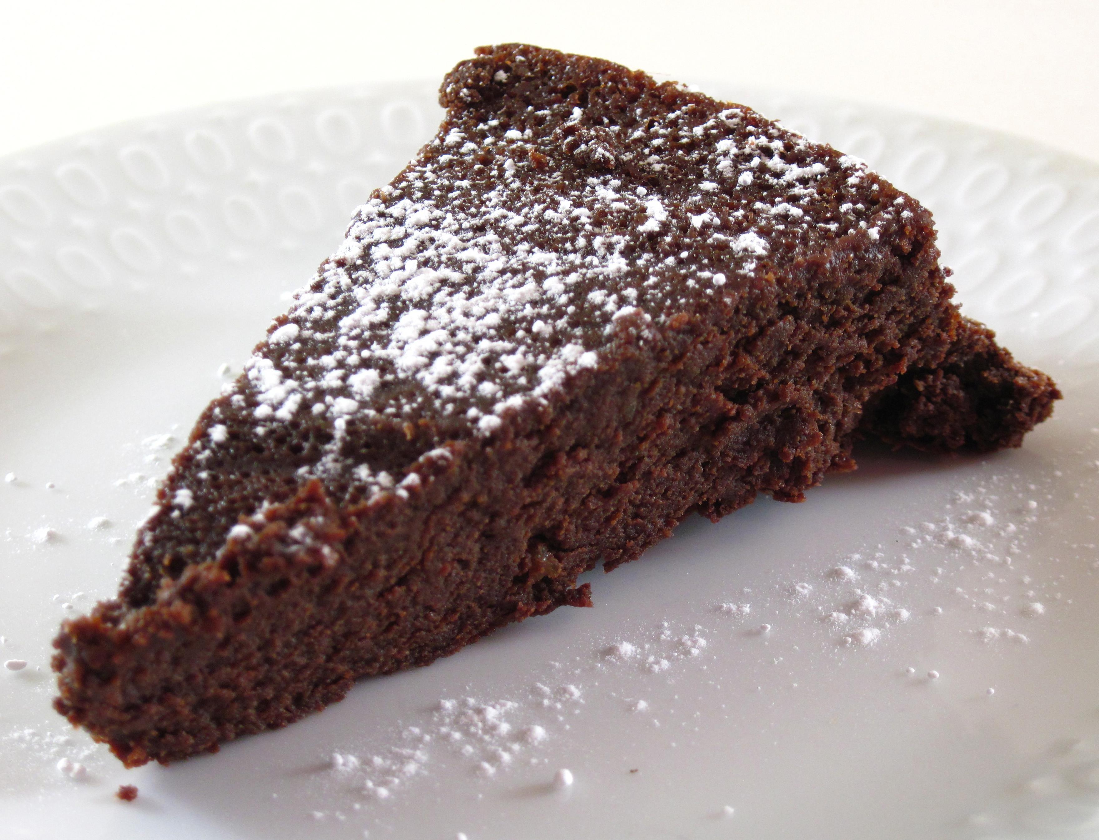 Simple Chocolate Cake  Easy Flourless Chocolate Cake