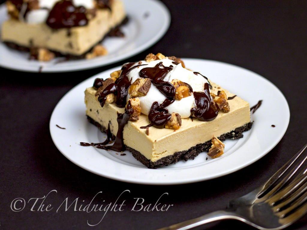 Simple Chocolate Dessert  Easy Frozen Peanut Butter & Chocolate Dessert Bars The